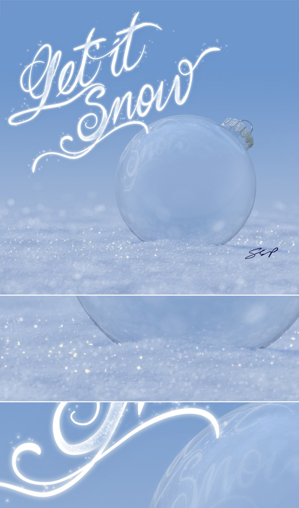 Create a Winter-Themed Holiday Card in Photoshop 111