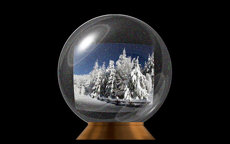 not a real picture .... but learning about photoshop etc to one day make something great .  my first globe Globe10