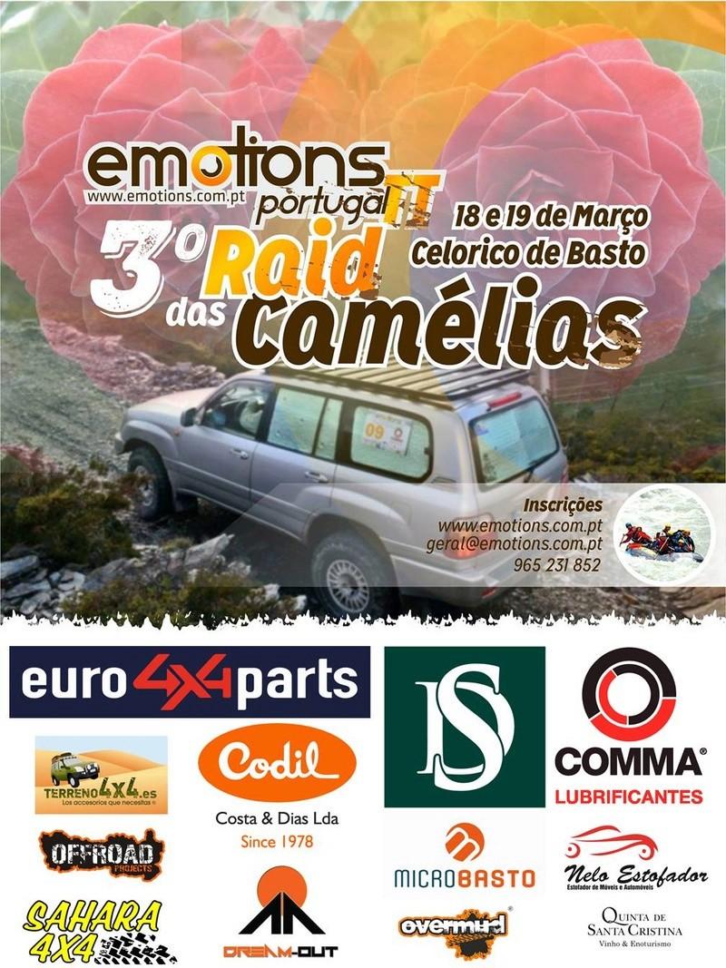 Raid des Camélias - Emotions Portugal TT Cartaz13