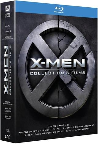 [-30%] L'intégral 6 films X-Men en Blu-Ray 61zfws10