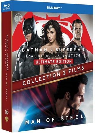 [-60%] Batman v Superman : L'aube de la justice + Man of Steel en Blu-ray 71ajf510