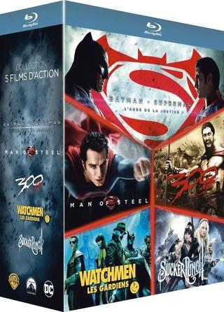 [-60%] Coffret Blu-Ray des films de Zack Snyder (BvS, Man of Steel, Watchmen...) 71eknj10