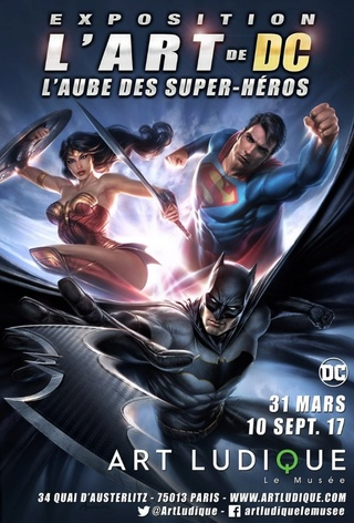 Exposition DC Comics au musée Art Ludique à Paris Artdc10