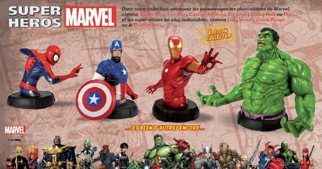 Bustes Marvel : Collectionnez tous les Héros de Marvel Bustes10