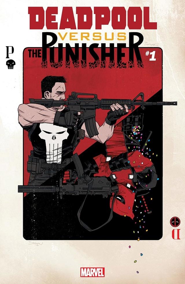Deadpool VS The Punisher pour avril 2017 ! Deadpo11