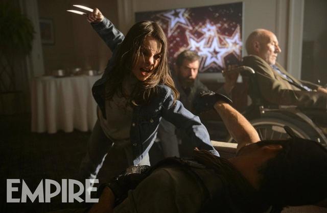 X-23 montre ses griffes dans de nouvelles images pour Logan Empire11