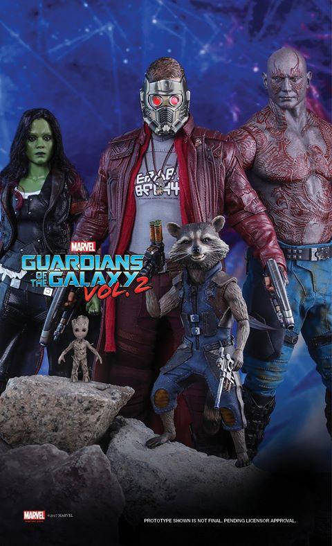 Nouvelle collection Gardiens de la Galaxie Vol.2 pour Hot Toys ! Hottoy10