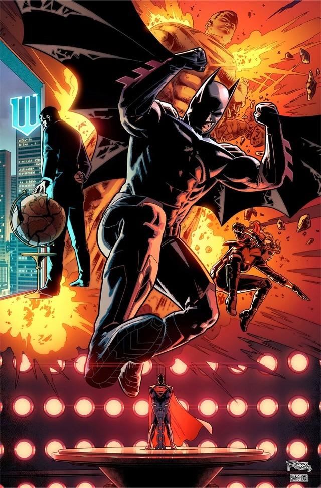 Injustice 2 en comic book  Injust10
