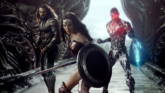 Aquaman, Wonder Woman et Cyborg prêts au combat pour Justice League Jleagu10