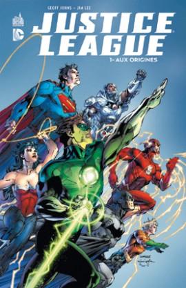 Justice League tome 1 de Geoff Johns et Jim Lee à 1€ sur Amazon ! Justic13