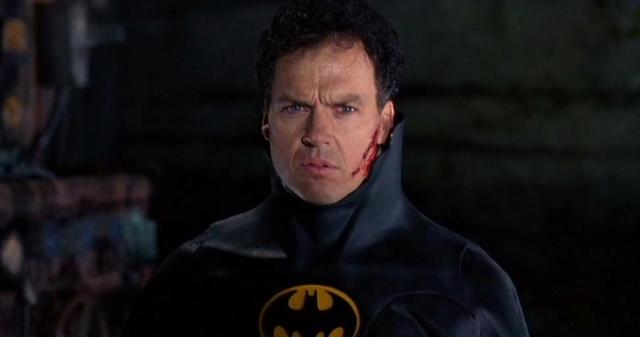 """""""I'm Batman"""" sur le tournage de Spider-Man: Homecoming  Michae11"""