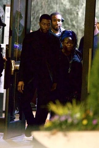 Photos du tournage de Black Panther News_i43