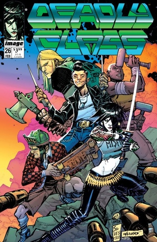 Couvertures pour les 25 ans d'Image Comics News_i48