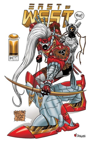 Couvertures pour les 25 ans d'Image Comics News_i49