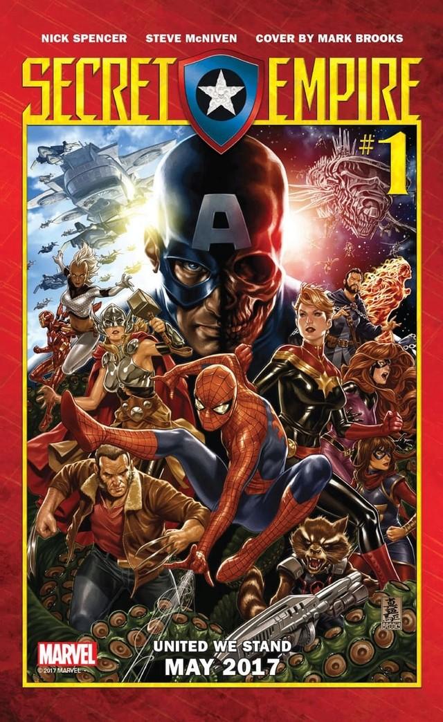 Secret Empire l'événement majeur annoncé par Marvel News_i58