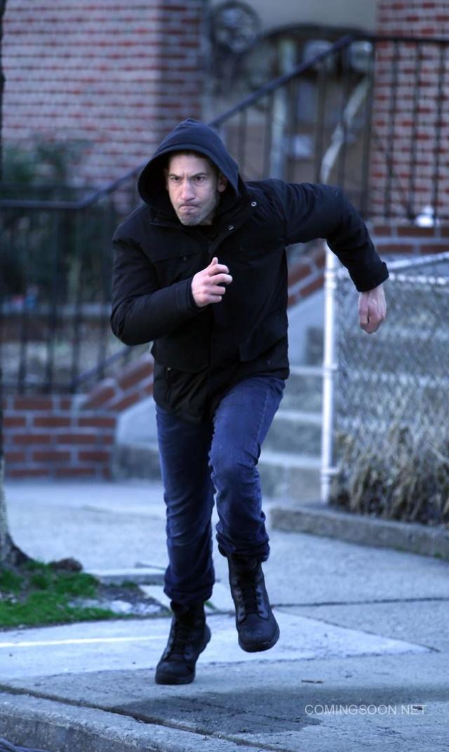 Des photos pour la série The Punisher de Netflix Punish10