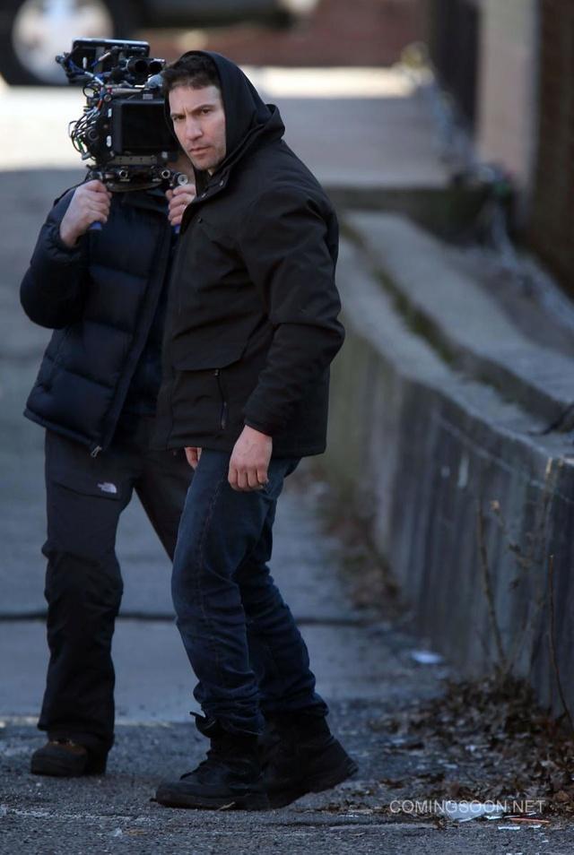 Des photos pour la série The Punisher de Netflix Punish11