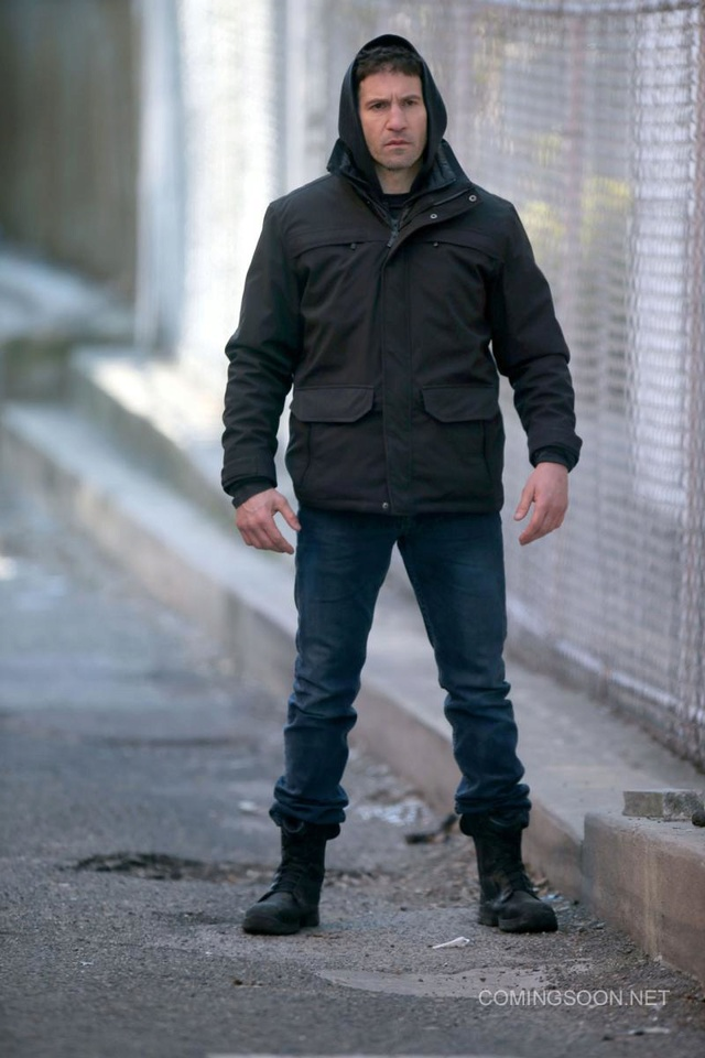Des photos pour la série The Punisher de Netflix Punish15