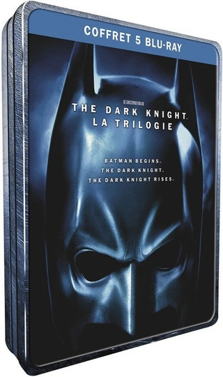 [-60%] Trilogie The Dark Knight de Nolan en Blu-Ray Trilog10
