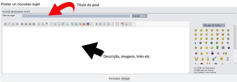 (Tutorial) Como criar um post no forum ? 0210