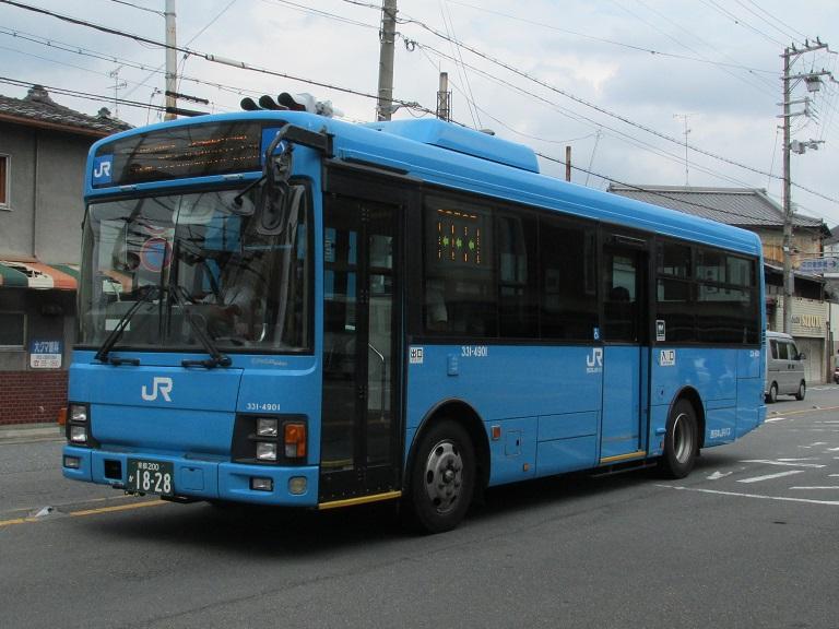 [2014年の夏][京都市] 西日本JRバス Img_0710