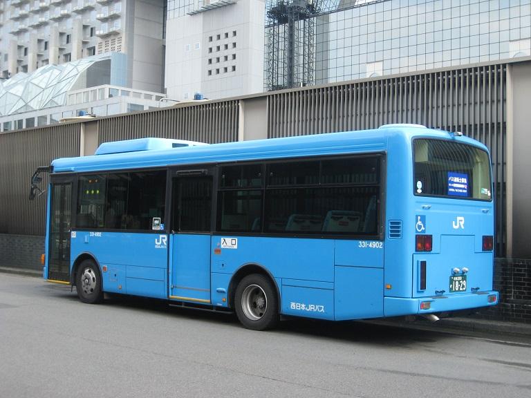 [2014年の夏][京都市] 西日本JRバス Img_3411