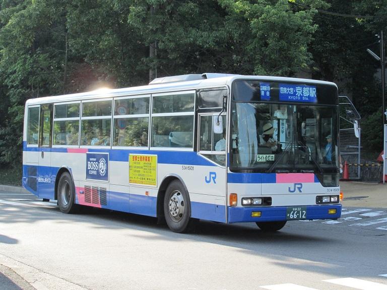 [2016年の夏][京都市] 西日本JRバス Img_4012