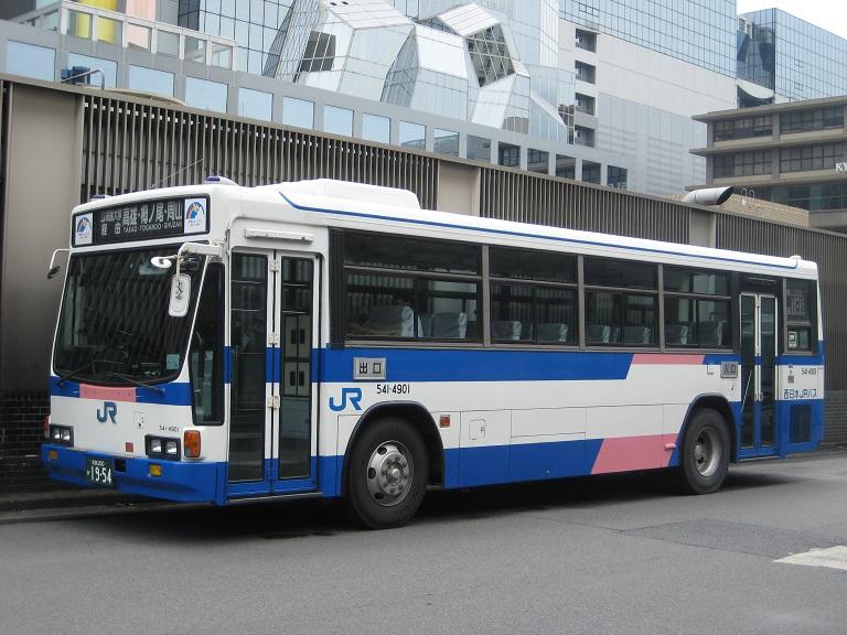 [2014年の夏][京都市] 西日本JRバス Img_4111