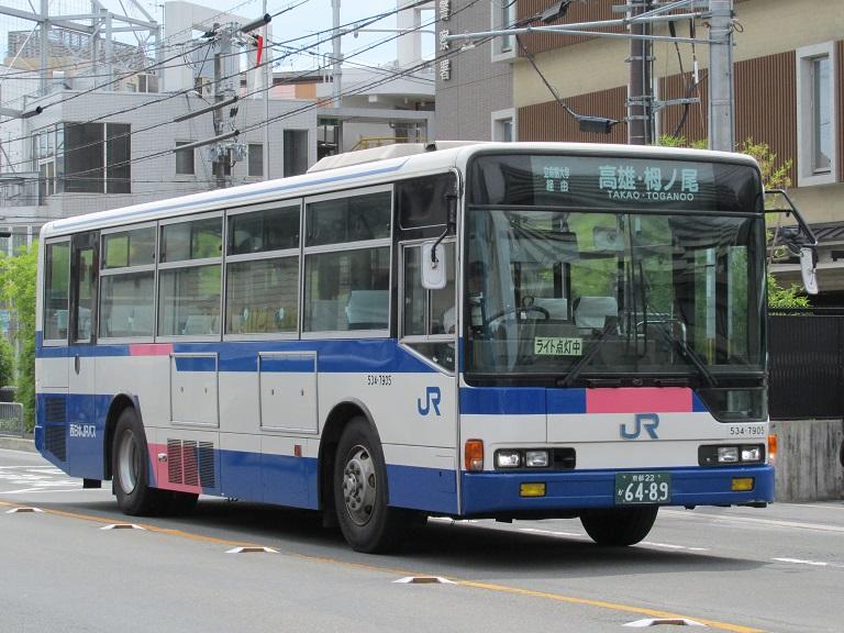 [2016年の夏][京都市] 西日本JRバス Img_4112