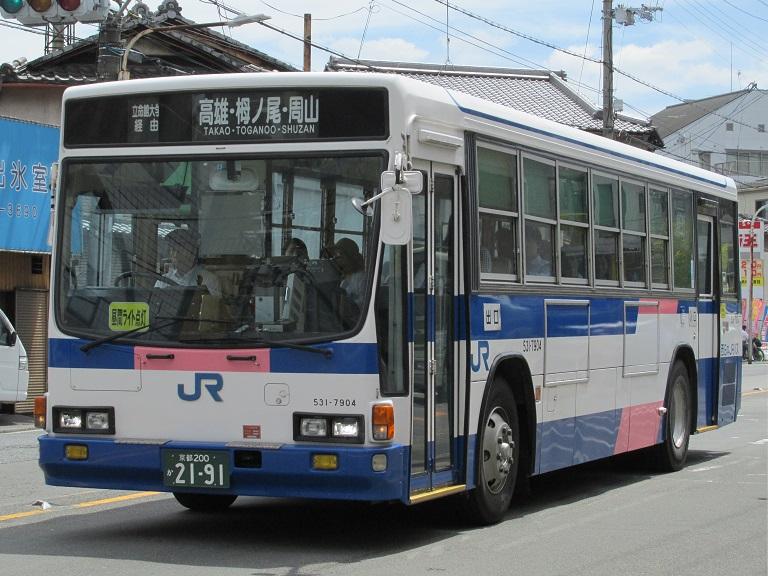[2016年の夏][京都市] 西日本JRバス Img_4113