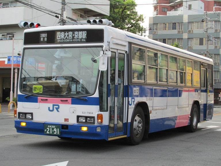 [2016年の夏][京都市] 西日本JRバス Img_4510