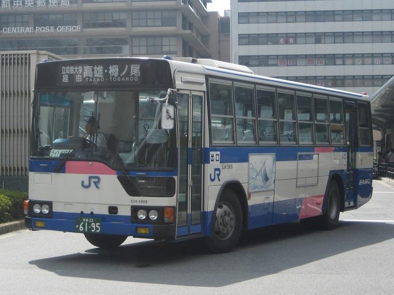 [2014年の夏][京都市] 西日本JRバス Img_5710