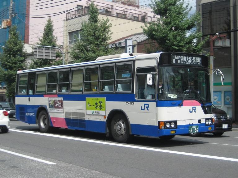 [2014年の夏][京都市] 西日本JRバス Img_6710