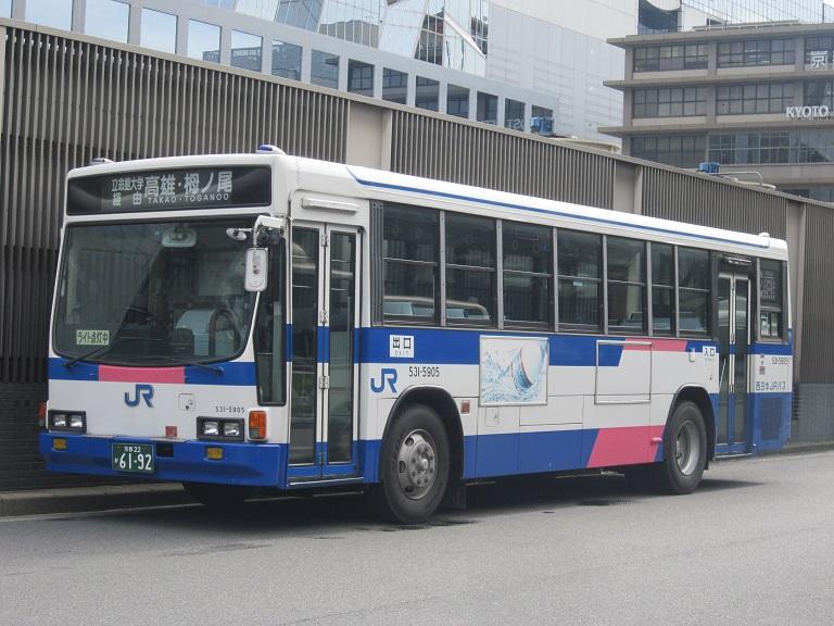 [2013年の夏][京都市] 西日本JRバス Img_7110
