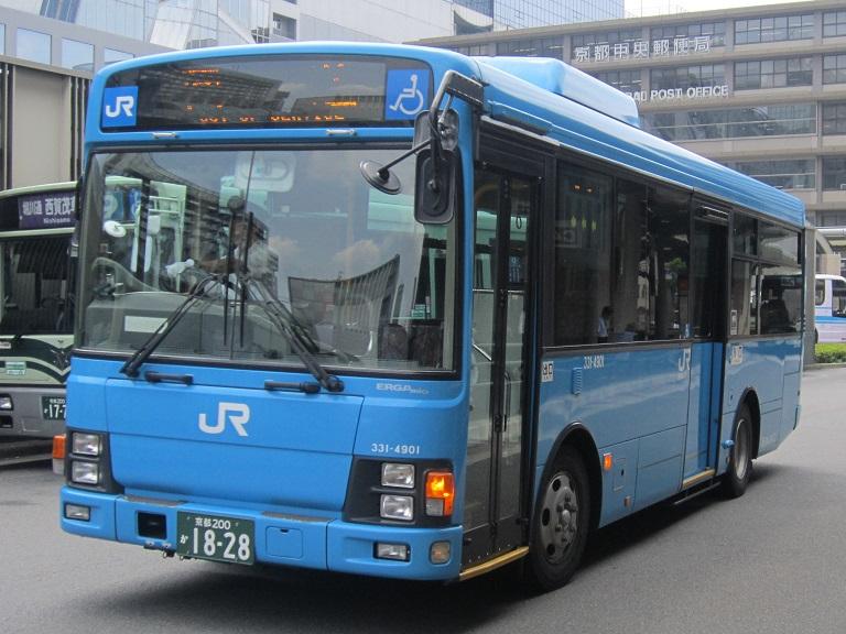 [2013年の夏][京都市] 西日本JRバス Img_9013