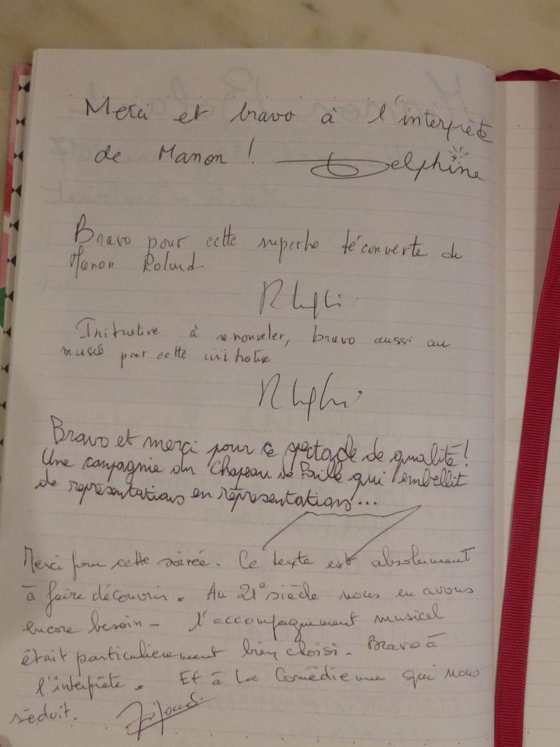 Manon Roland, la plume de la liberté. Représentations au Musée Lambinet Livre_10