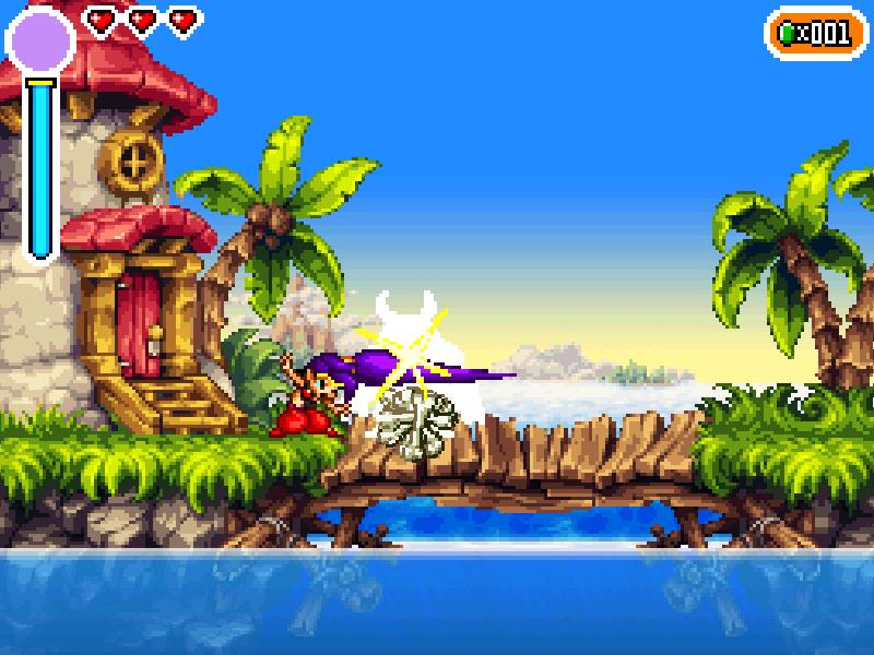 Test de Shantae : Risky's revenge (nindendo DSi et donc accessible sur 2ds et 3ds, iOS) Director's cut (WiiU, PS4, Steam) Bandic10