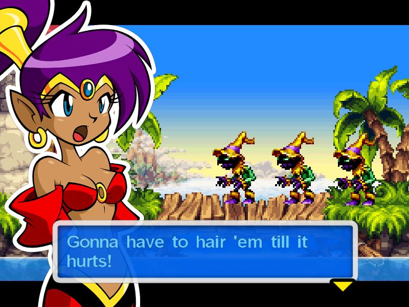 Test de Shantae : Risky's revenge (nindendo DSi et donc accessible sur 2ds et 3ds, iOS) Director's cut (WiiU, PS4, Steam) Bandic11