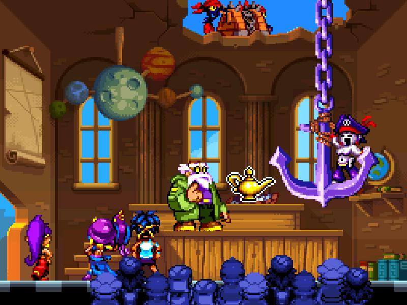 Test de Shantae : Risky's revenge (nindendo DSi et donc accessible sur 2ds et 3ds, iOS) Director's cut (WiiU, PS4, Steam) Bandic12