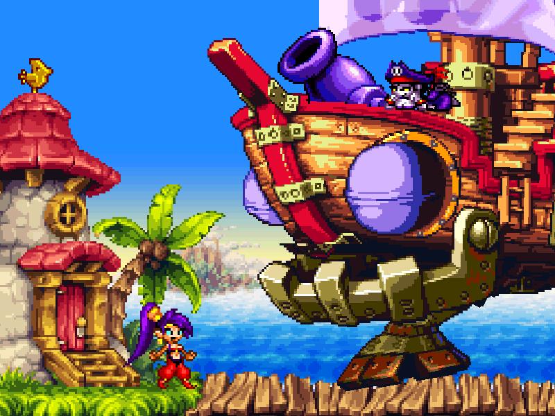 Test de Shantae : Risky's revenge (nindendo DSi et donc accessible sur 2ds et 3ds, iOS) Director's cut (WiiU, PS4, Steam) Bandic13
