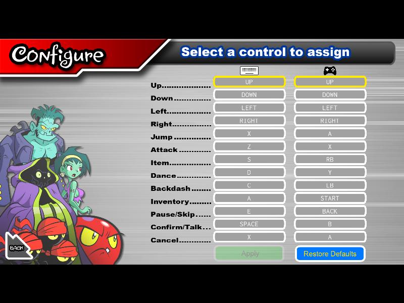 Test de Shantae : Risky's revenge (nindendo DSi et donc accessible sur 2ds et 3ds, iOS) Director's cut (WiiU, PS4, Steam) Riskys12