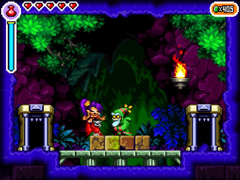 Test de Shantae : Risky's revenge (nindendo DSi et donc accessible sur 2ds et 3ds, iOS) Director's cut (WiiU, PS4, Steam) Riskys14