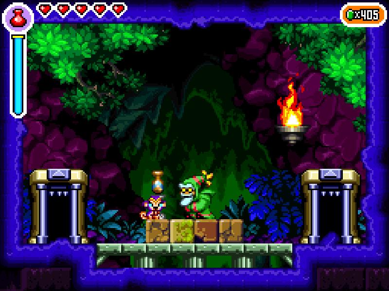 Test de Shantae : Risky's revenge (nindendo DSi et donc accessible sur 2ds et 3ds, iOS) Director's cut (WiiU, PS4, Steam) Riskys15