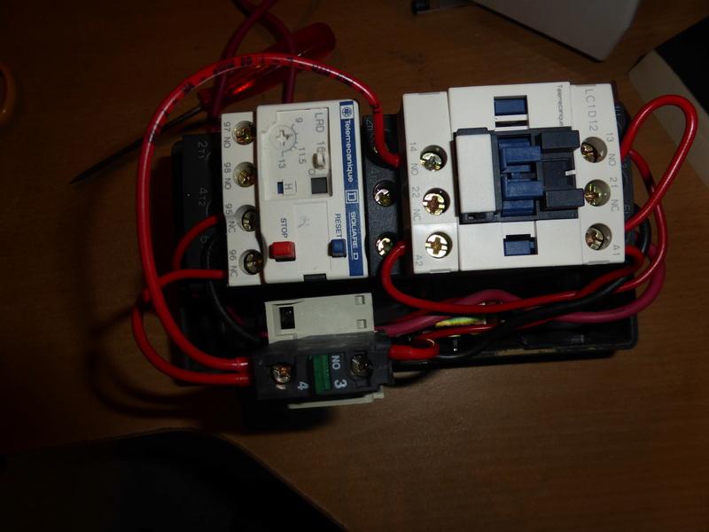 Remplacement moteur 2 arbres sur  combiné Kity 26  P1000712