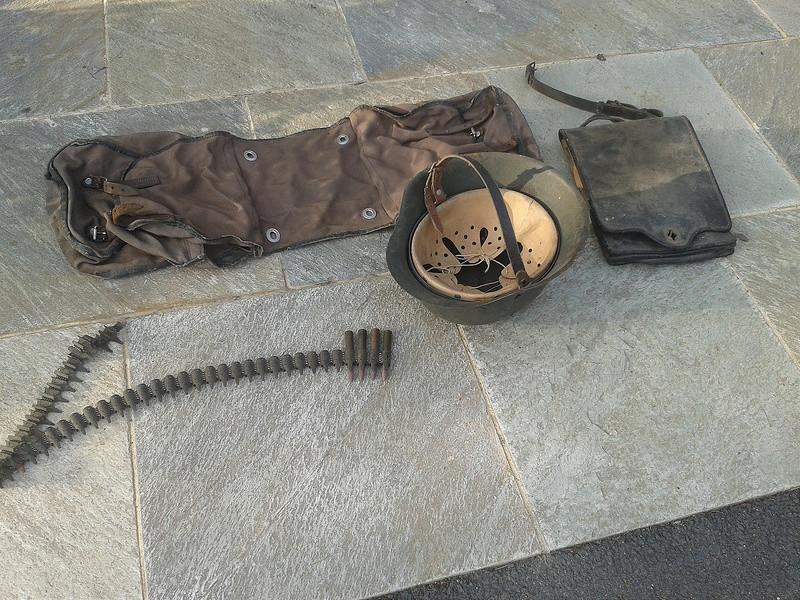 mes casques allemand(photos dans les bois 30/01/2018) 19814210