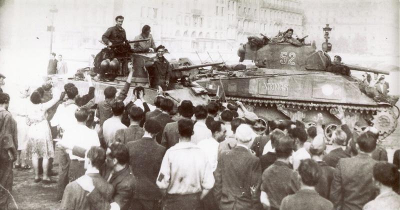 Quelques photos amateur de la libération de Paris 501rcc11