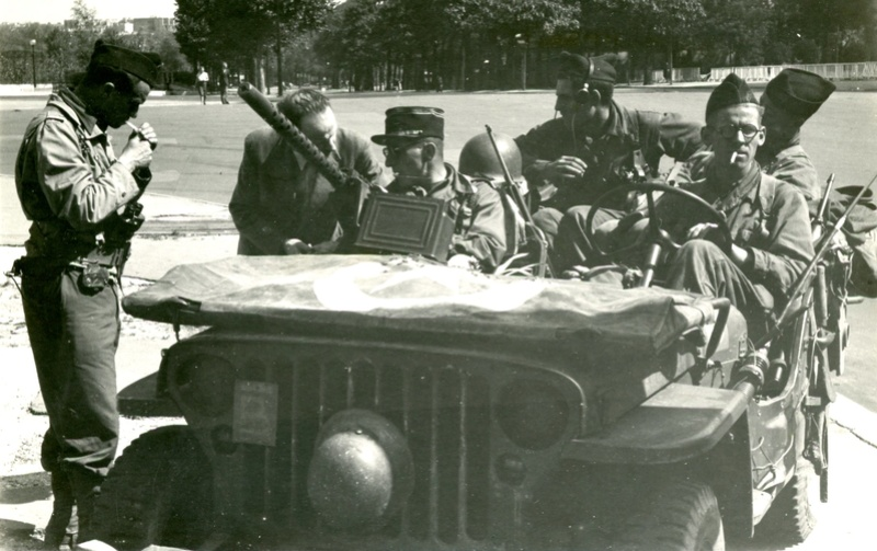 La rencontre 2ème DB — 1ère DFL le 12 septembre 1944 Percev10