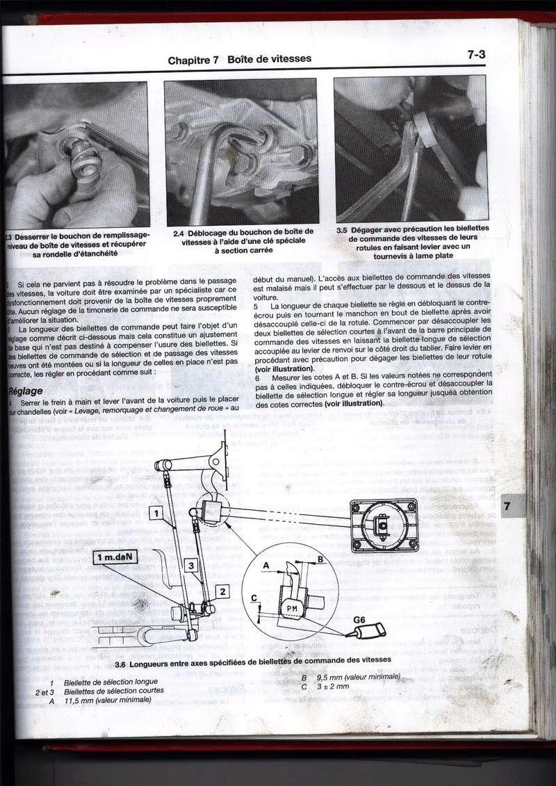 [ Citroen AX 1.0 an 1991 ] Palonnier sélecteur vitesse se déboite en 2ème, 4ème et marche ar Rta_ci10