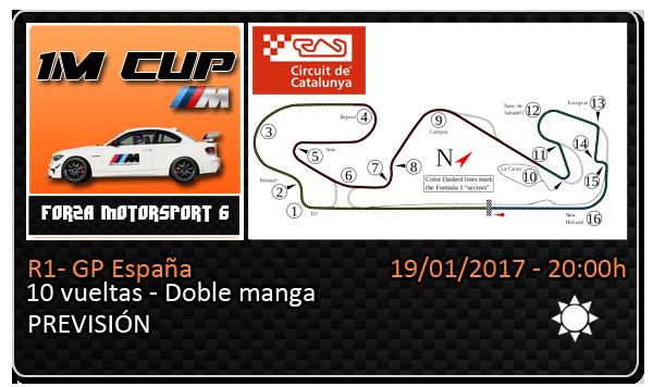 [1MCUP] R1 - GP España 19/01/2017 : 22.30h Planti14