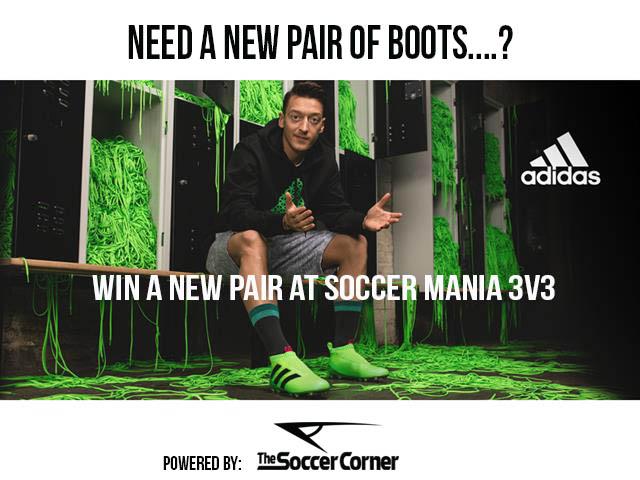 Soccer Mania 3v3 - December 3rd  Newboo11